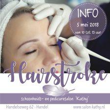 Hairstroke info- 5 mei
